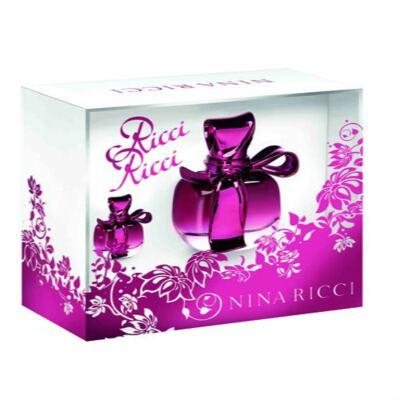Imagem 1 do produto Ricci Ricci Nina Ricci - Feminino - Eau de Parfum - Perfume + Miniatura - Kit