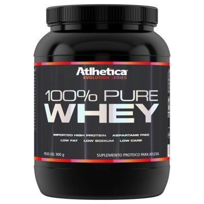 100% Pure Whey Protein Atlhetica Nutrition - Baunilha | 900g