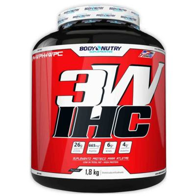 Whey 3W 1,8Kg - Body Nutry - Morango
