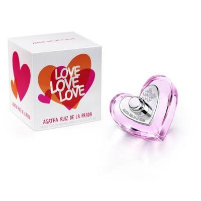 Imagem 1 do produto Love Love Love Agatha Ruiz de la Prada Eau de Toilette Feminino - 80 ml