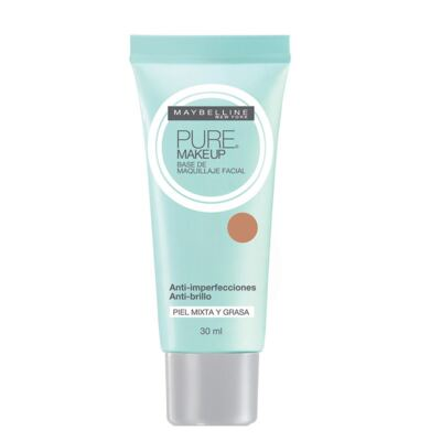 Imagem 1 do produto Pure Makeup Maybelline - Base Facial - Dourado