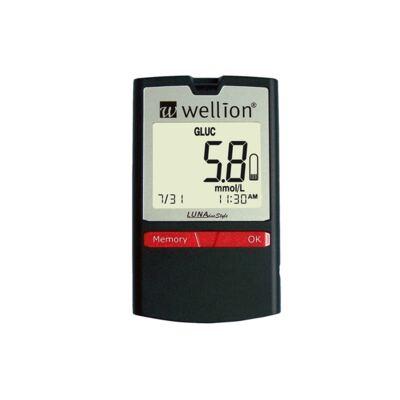 Imagem 1 do produto Kit Medidor de Glicose e Colesterol Luna Duo Style Wellion