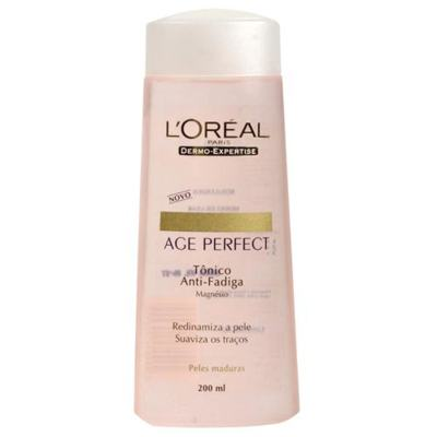 Imagem 1 do produto Tônico Facial L'Oréal Paris Tônico Anti-Fadiga Age Perfect Dermo Expertise - 200ml