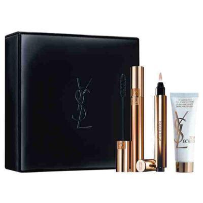 Imagem 1 do produto Yves Saint Laurent Beauty Icon Gift Set Yves Saint Laurent - Corretivo Iluminador + Máscara para Cílios + Primer - Kit