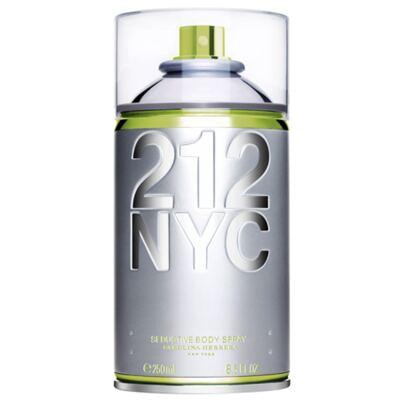 212 NYC Body Spray Carolina Herrera - Perfume Feminino para o Corpo - 250ml