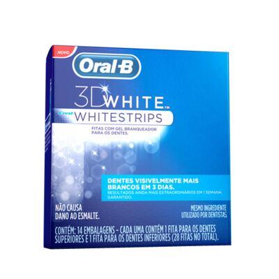 3D White Oral B - Fita Dental Branqueadora - 14 Un