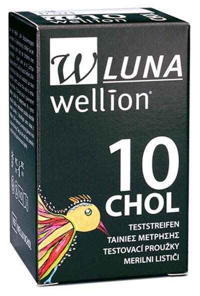 TIRA TESTE DE COLESTEROL DUO CHOL WELLION - Caixa com 10 Unidades
