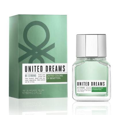 United Dreams Men Be Strong Benetton Eau de Toilette Masculino - 100 ml