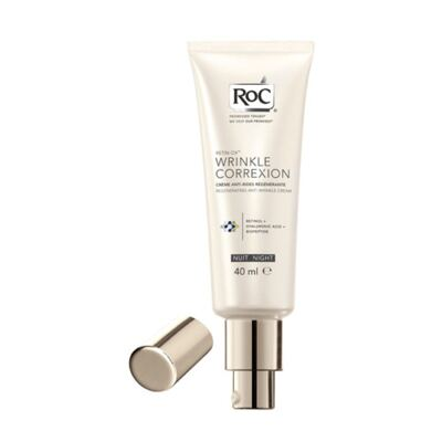 Imagem 1 do produto Retin-Ox Wrinkle Correxion Night Roc - Cuidado Facial Anti-Rugas Noturno - 40ml