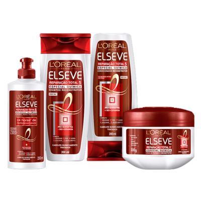 Imagem 3 do produto L'Oréal Paris Elseve Reparação Total 5 Quimica - Shampoo - 400ml
