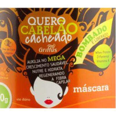 Imagem 2 do produto Griffus Quero Cabelão Cacheado - Máscara de Hidratação - 500g