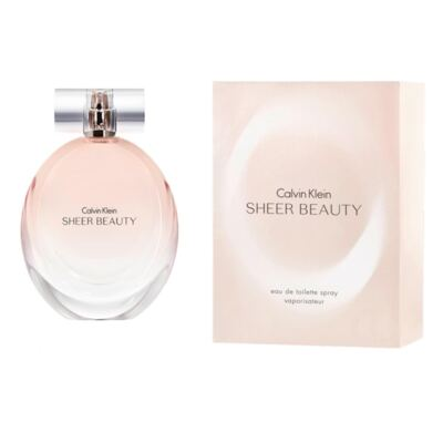 Imagem 4 do produto Calvin Klein Sheer Beauty Calvin Klein - Perfume Feminino - Eau de Toilette - 50ml
