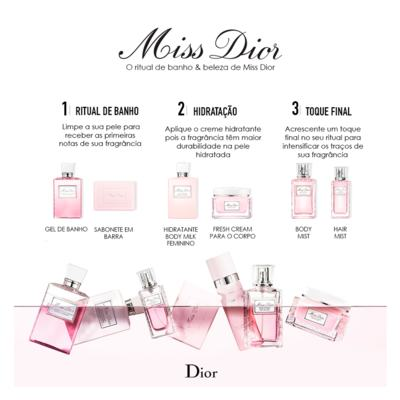 Imagem 3 do produto Miss Dior Silk Body Mist Dior - Body Spray - 100ml