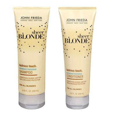 Kit Shampoo + Condicionador John Frieda Sheer Blonde Lustrous Touch Strengthening - Kit
