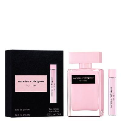 Narciso Rodriguez For Her Narciso Rodriguez - Feminino - Eau de Parfum - Perfume + Roll-On - Kit
