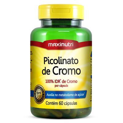 Imagem 1 do produto Picolinato de Cromo 60cps - Maxinutri - 60Cps