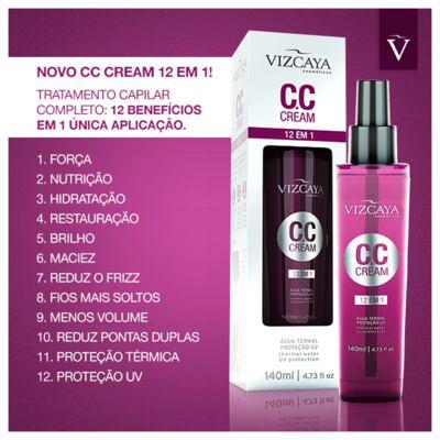 Imagem 2 do produto Vizcaya CC Cream 12 em 1 - Tratamento Reconstrutor - 140ml
