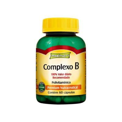 Complexo B 100% IDR 60Cps - Maxinutri - 60Cps
