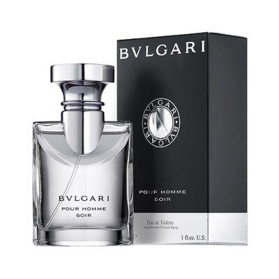 BVLGARI Pour Homme Soir BVLGARI - Perfume Masculino - Eau de Toilette - 50ml