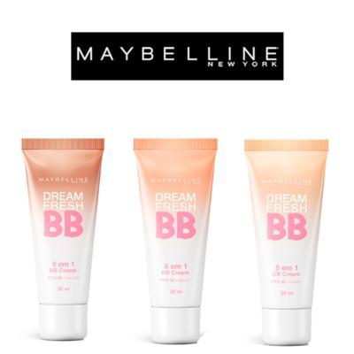 Imagem 8 do produto Dream Fresh BB Cream 30ml Maybelline - Base Facial - Médio