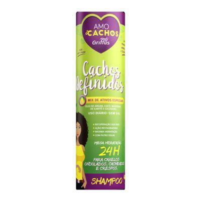 Imagem 2 do produto Griffus Cachos Definidos Amo Cachos - Shampoo Alisante - 400ml