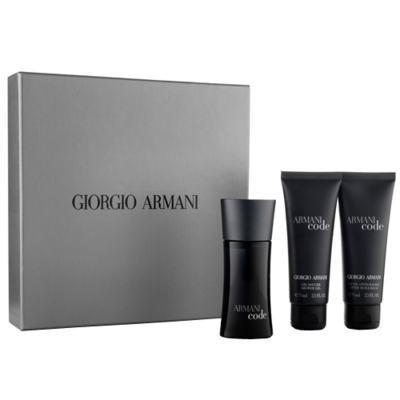 Armani Code Giorgio Armani - Masculino - Eau de Toilette - Perfume + Gel de Banho + Loção Pós Barba - Kit