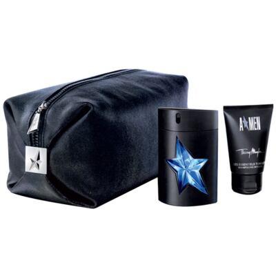 A Men Rubber Mugler - Masculino - Eau de Toilette - Perfume + Loção Perfumada - Kit