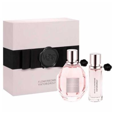 Flowerbomb Viktor & Rolf - Feminino - Eau de Parfum - Perfume + Miniatura - Kit