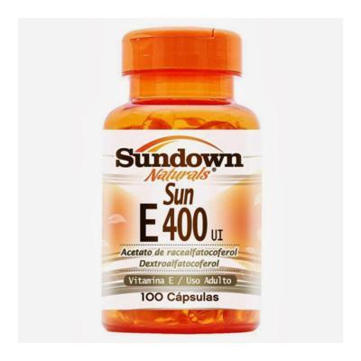 Imagem 1 do produto Vitamina E 400UI 100Cps - Sundown - 100Cps