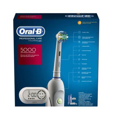 Imagem 1 do produto Oral-B Professional Care 5000 Oral B - Escova Dental Elétrica - 110v