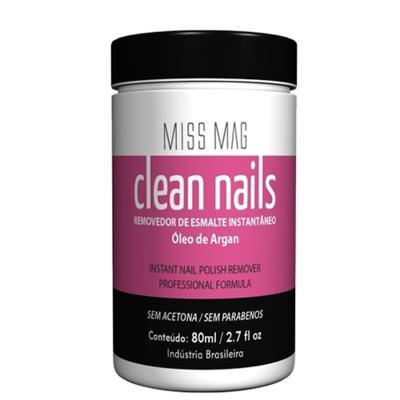 Clean Nails Miss Mag - Removedor de Esmaltes - 80ml