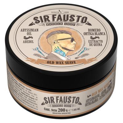 Pomada Suave para Cabelo Sir Fausto - Old Wax - 200g