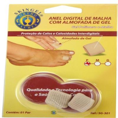 Imagem 3 do produto ANEL DIGITAL DE MALHA COM ALMOFADA DE GEL SG 301 ORTHO PAUHE - P