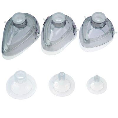 Imagem 1 do produto Máscara para Reanimador Manual Tipo Ambu de Silicone - MASCARA AMBU Nº 02 MD