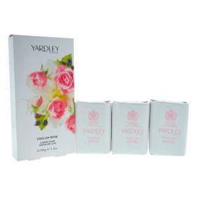 Sabonete Yardley - English Rose Luxury - 3x 100g