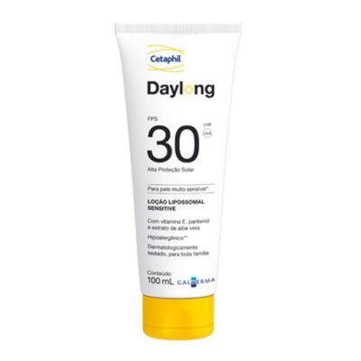 Imagem 1 do produto Cetaphil Daylong FPS30 Loção Lipossomal Sensitive - Protetor Solar - 100ml