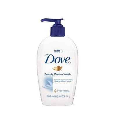 Sabonete Líquido Dove Beauty Cream Wash Mãos 250ml