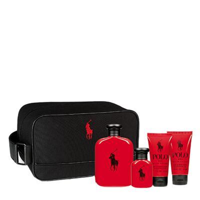 Imagem 1 do produto Polo Red Ralph Lauren - Masculino - Eau de Toilette - Perfume + Edt + Gel de Banho + Loção Pós Banho - Kit