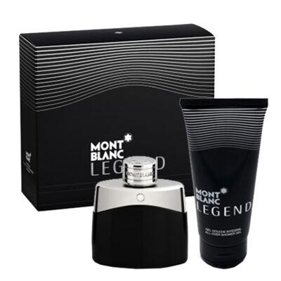 Legend Montblanc - Masculino - Eau de Toilette - Perfume + Gel de Banho - Kit