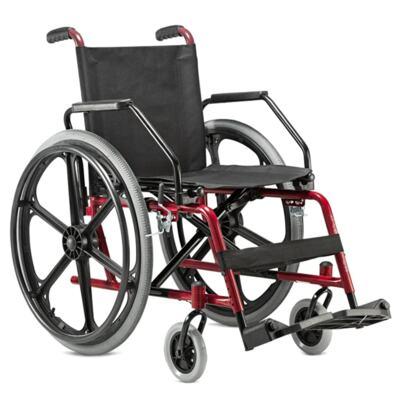 Imagem 1 do produto Cadeira de Rodas Cantu Vinho Jaguaribe