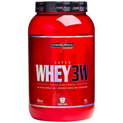 Imagem 1 do produto Super Whey 3W 907g - Integralmedica - Chocolate