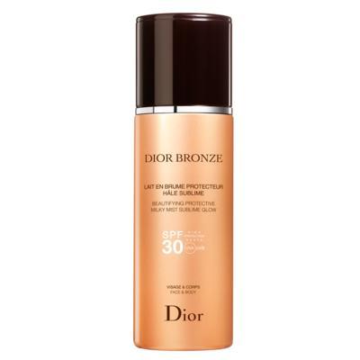 Protetor Solar Dior Bronze Beautifying Protective Milky Mist Sublime Glow SPF 30 - 125ml