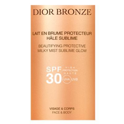 Imagem 2 do produto Protetor Solar Dior Bronze Beautifying Protective Milky Mist Sublime Glow SPF 30 - 125ml