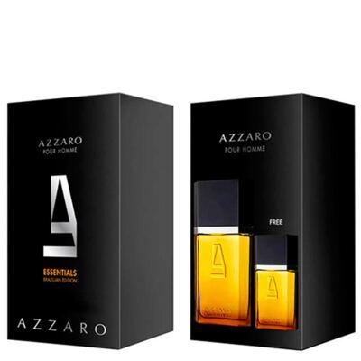 Azzaro pour Homme Azzaro - Masculino - Eau de Toilette - Estojo de Perfume + Edt - Kit