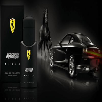 Imagem 13 do produto Ferrari Black Eau de Toilette Perfume Masculino 125ml -