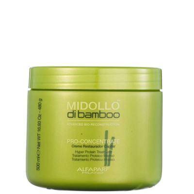 Imagem 3 do produto Alfaparf Midollo di Bamboo Pro-Concentrate Mascara - Alfaparf Midollo di Bamboo Pro-Concentrate Mascara 500ml