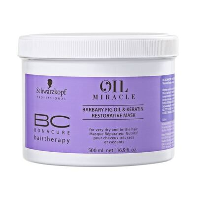 Imagem 1 do produto Schwarzkopf BC Bonacure Oil Miracle Barbary Fig Mascara