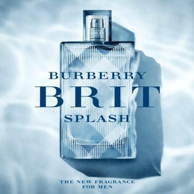 Imagem 8 do produto Brit Splash Burberry - Perfume Masculino - Eau de Toilette - 50ml