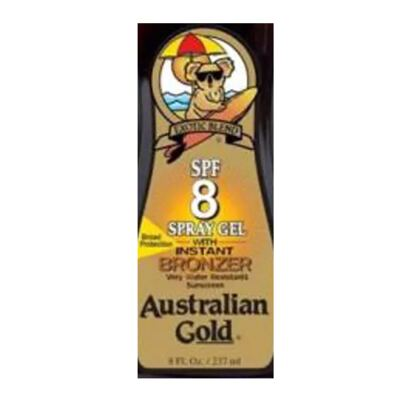 Imagem 2 do produto Bronzeador Solar Australian Gold Spray Gel Spf 8 - 237ml