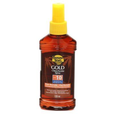 Gold Óleo Spray Pele Dourada Fps 10 Banana Boat - Bronzeador - 120ml